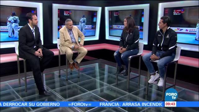 Rosario Espinoza, Carlos Navarro, visitan, Matutino Express