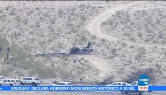 Estrella Avión militar Cerca Las Vegas