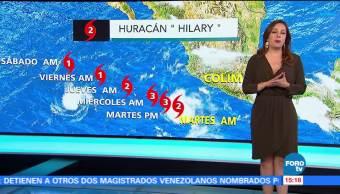 Raquel Mendez Tiempo Tiempo Huracan Hilary Categoria