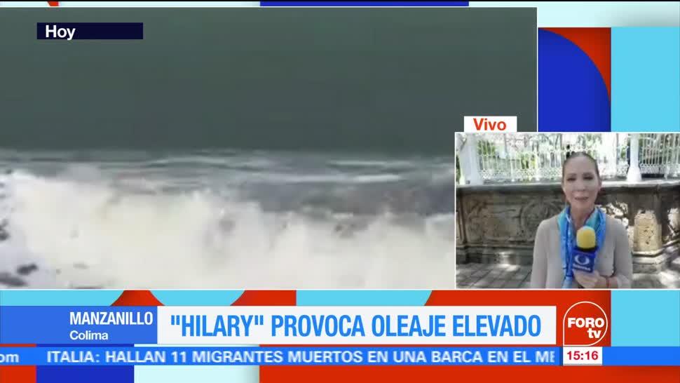 Afectaciones Intensas Lluvias Colima Bandas Nubosas Huracan Hilary