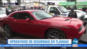 Sexto Operativos Revision Tlahuac Noticias Televisa