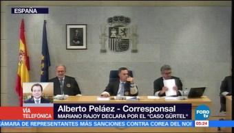 Mariano Rajoy, comparece, caso, Gürtel