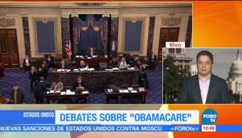 Republicanos, continúan, debate, Obamacare
