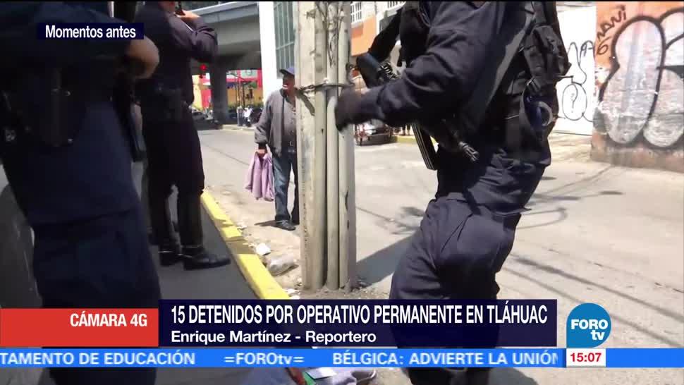 Paula Ordorica Suman Detenidos Operativo Tlahuac