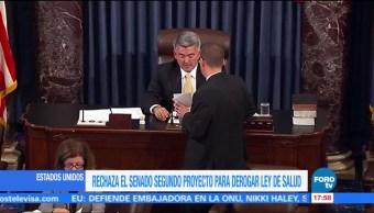 Televisa News Senadores Proyecto Derogar Obamacare