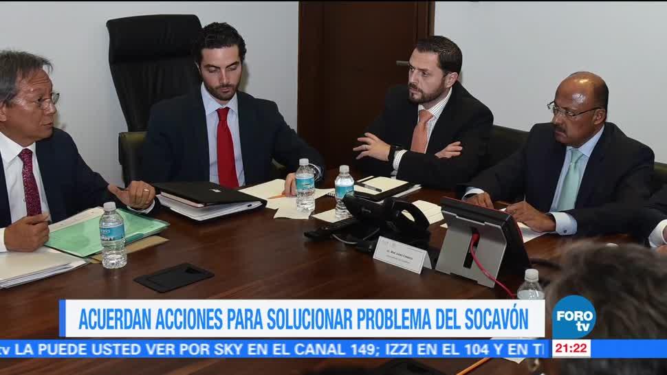 Acuerdan Acciones Solucionar Socavón Paso Express