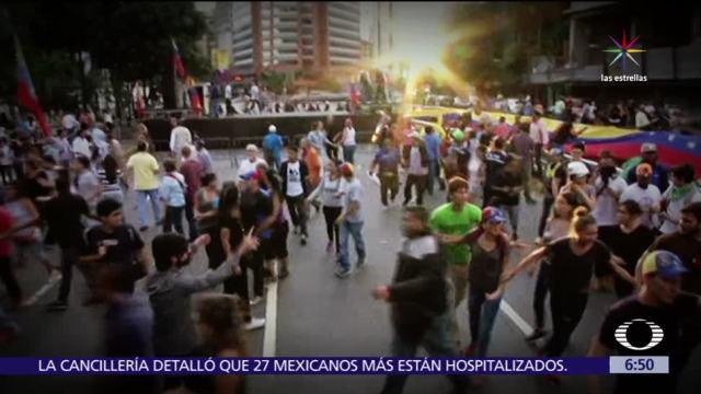 paro nacional, Venezuela, desatan, enfrentamientos