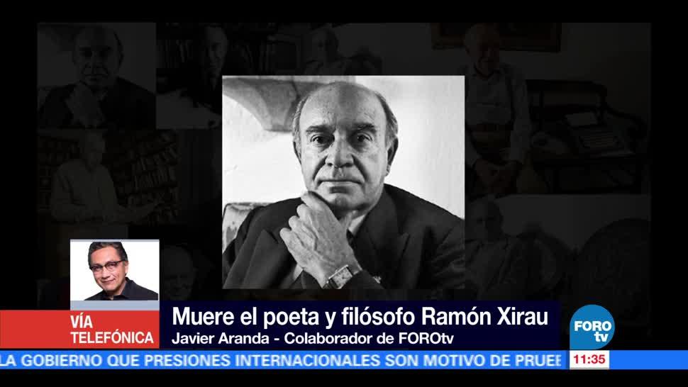 Ramón Xirau Poeta Querido Javier Aranda
