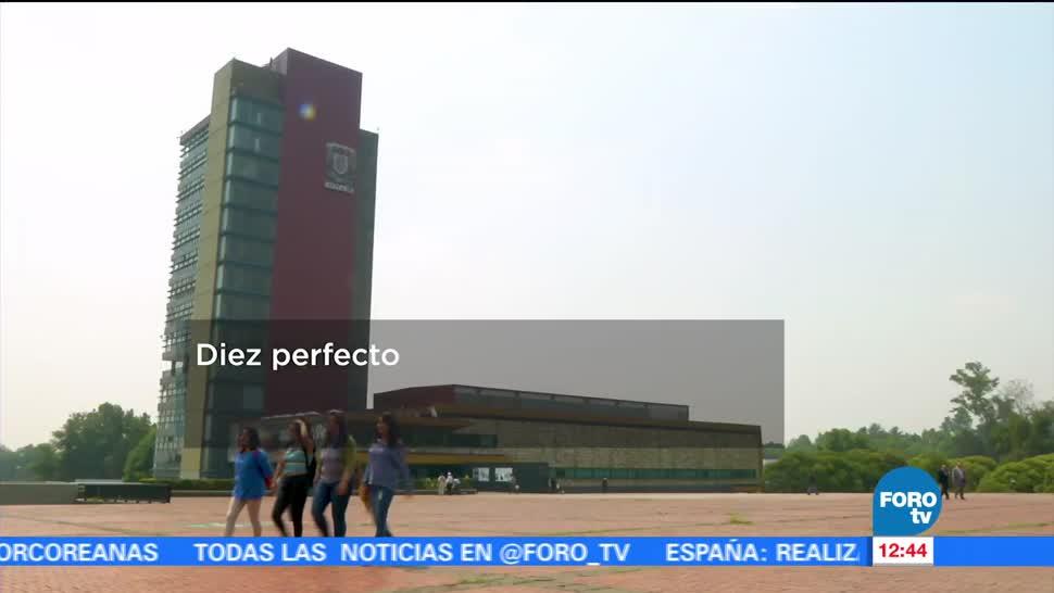 Televisa News Estudiantes Excelencia Estudiar UNAM