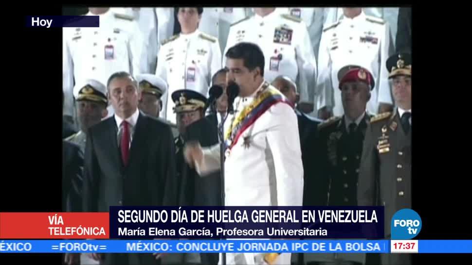 Televisa News Aumentan Tension Venezuela Constituyente