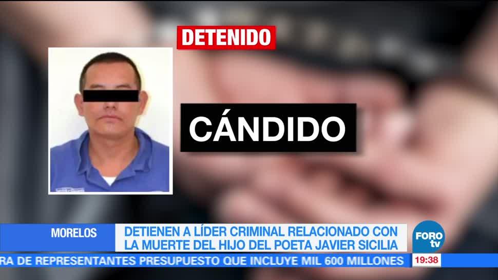 Detienen Lider, Candido Morelos Base 40
