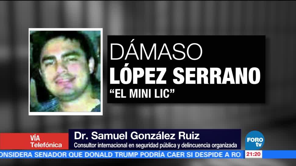 DEA negocia con Dámaso López Serrano
