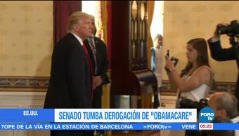 Televisa News Fracasa Trump Obamacare Iniciativa
