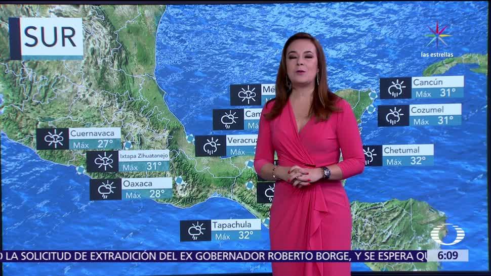 Noticieros Televisa, Pronostican, Grados, estados fronterizos, norte