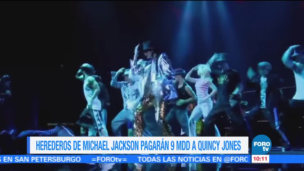 Herederos Michael Jackson Pagaran Quincy Jones