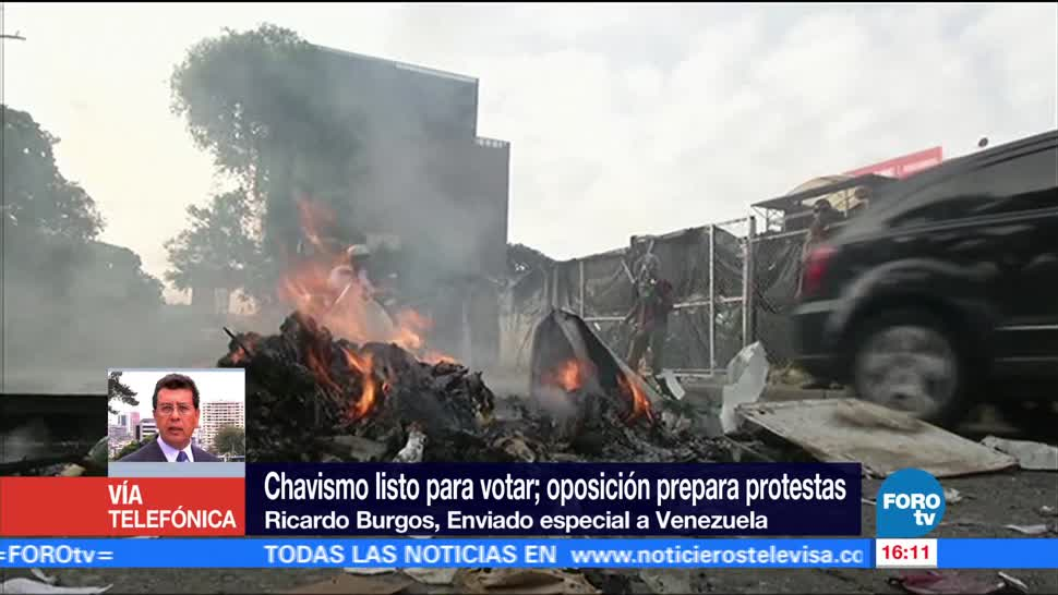 Venezolanos tensión previo votación asamblea constituyente