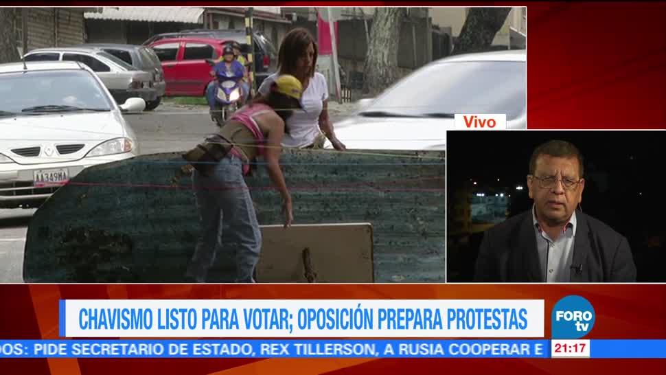 Tensión Venezuela horas elecciones de Constituyente