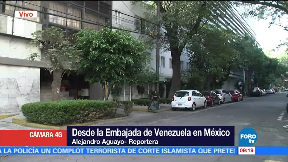 embajada, Venezuela, México, elecciones