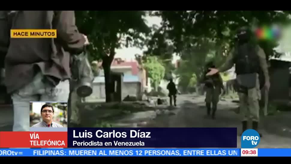 Militares, Venezuela, reprimen, cobertura