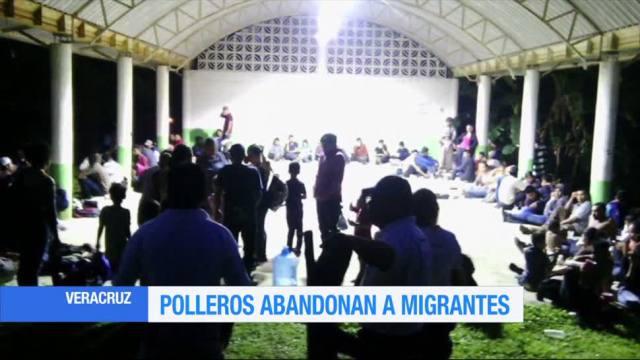 Rescatan Migrantes Abandonados Carretera Veracruz