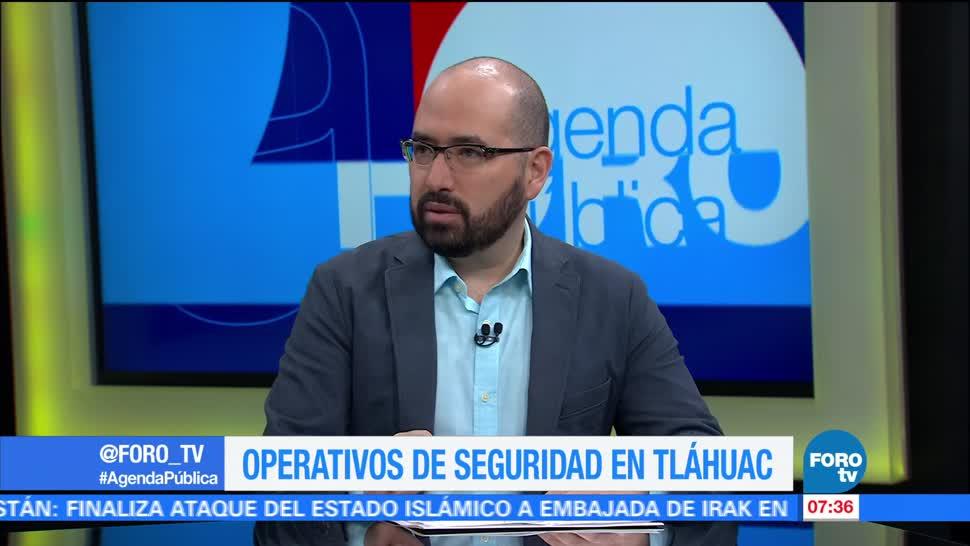Narrativas, operativos, seguridad, Tláhuac