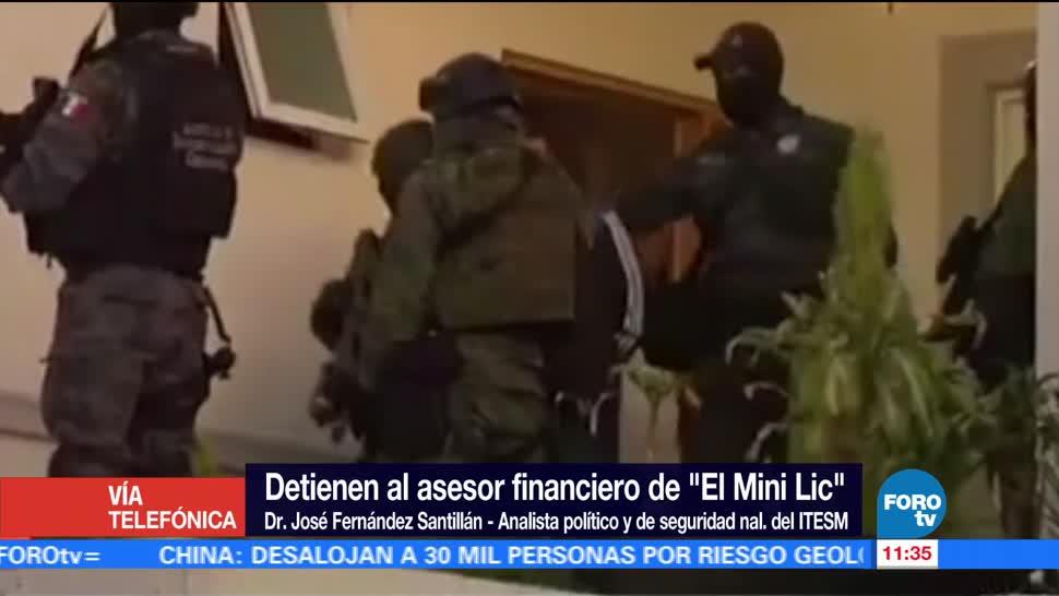 Detienen Asesor Financiero El Mini Lic