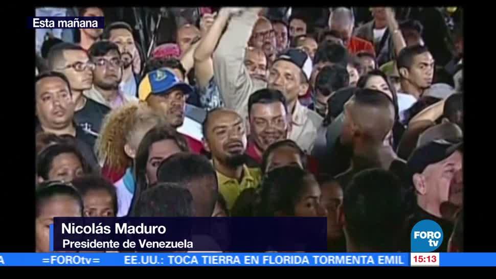 Maduro Califica Historica Eleccion Constituyente Presidente Venezolano