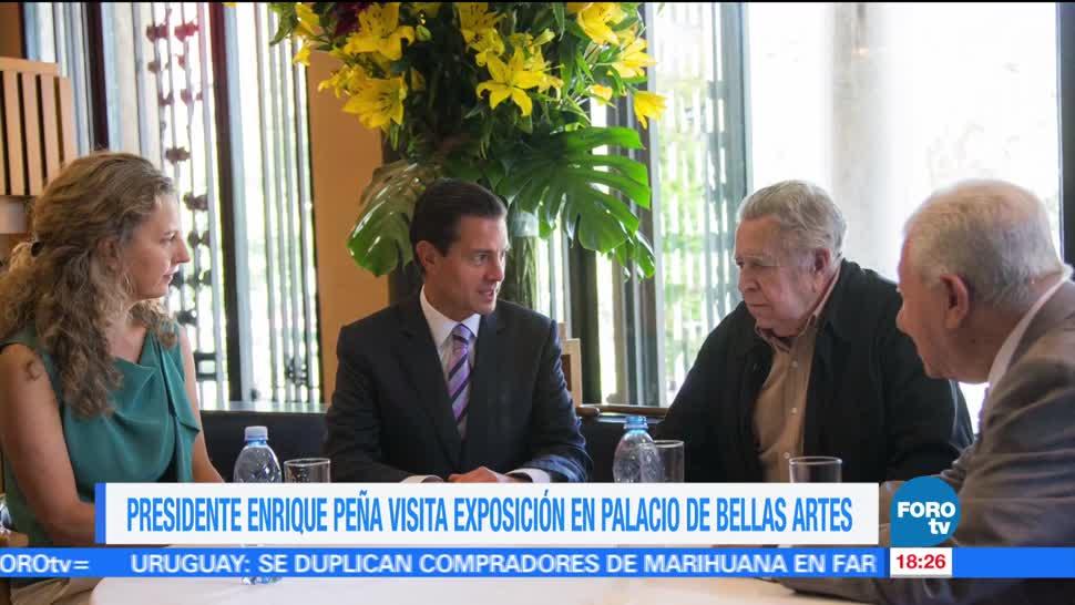 Epn Exposicion Picasso Rivera Bellas Artes Presidente De La Republica, Enrique Peña Nieto