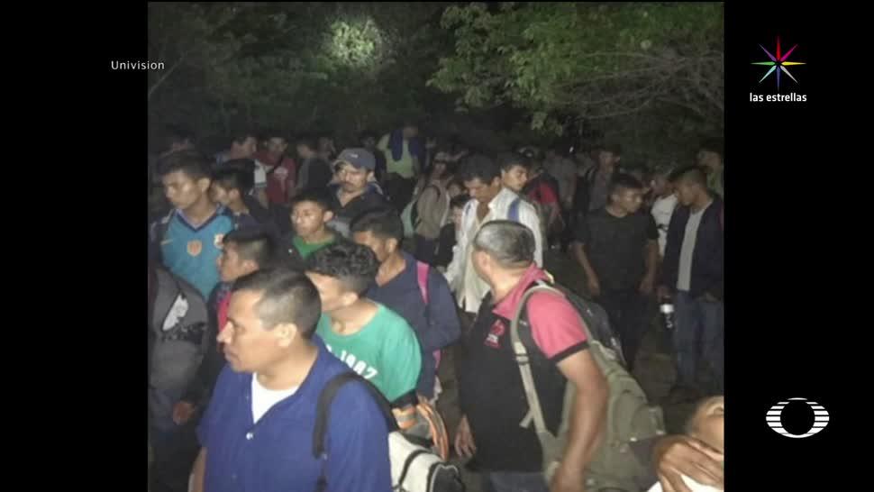 Rescatan Migrantes Centroamericanos Abandonados Trailer Veracruz