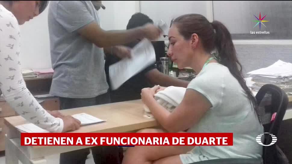 Detienen Exfuncionaria Ligada Caso Javier Duarte