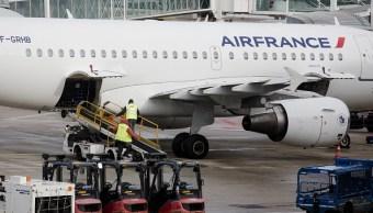Misil norcoreano y ruta de avión de Air France