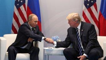 Rusia, Vladimir Putin, Donald Trump, Cumbre del G20 ,Hamburgo, Alemania