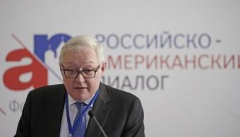 Viceministro Asuntos Exteriores Rusia Serguei Riabkov