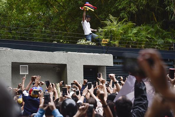 líder opositor, venezuela, Leopoldo López, simpatizantes residencia, Caracas