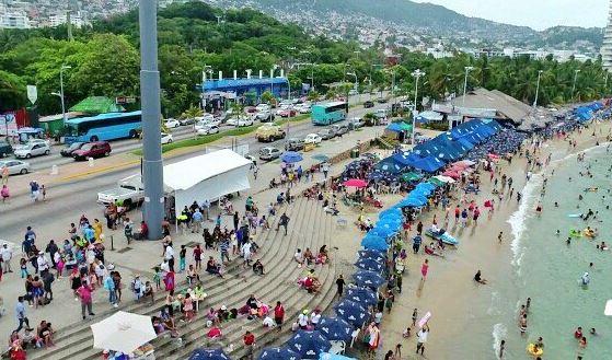 Acapulco Sector Hotelera Verano Periodo Guerrero