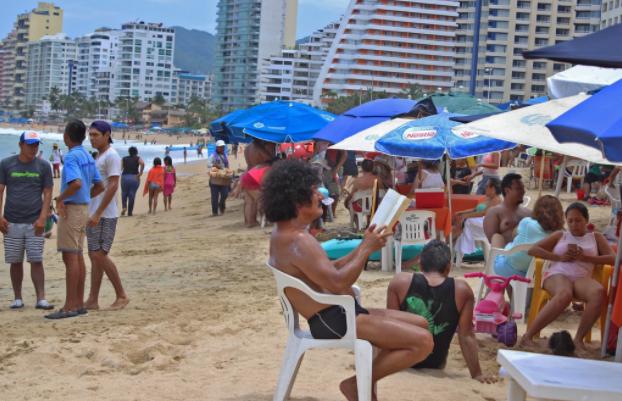 Destinos turísticos de Guerrero registran 57.3% de ocupación