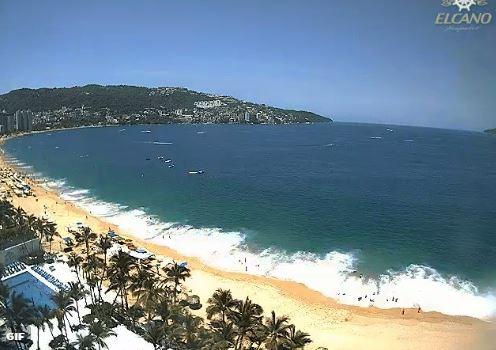 Acapulco, Fuerte oleaje, Protección civil, Guerrero, Noticias, Noticieros