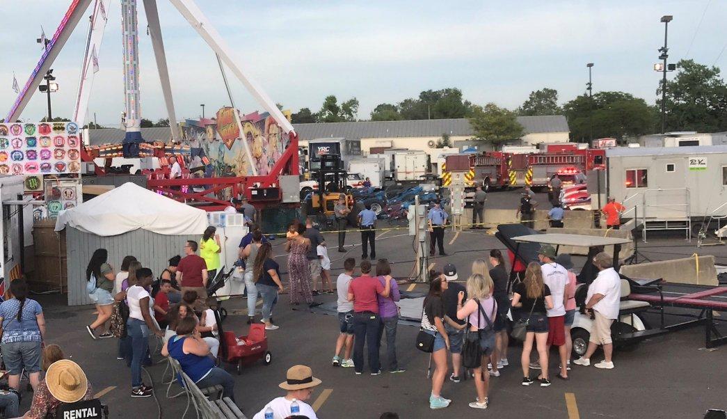 Accidente En Juego Mecanico Deja Un Muerto Y 7 Heridos En La Feria