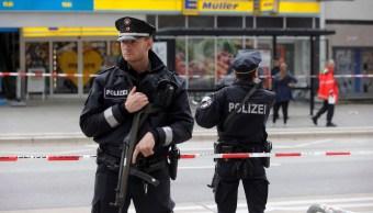 Hamburgo Ataque Armado Supermercado Alemania Policia