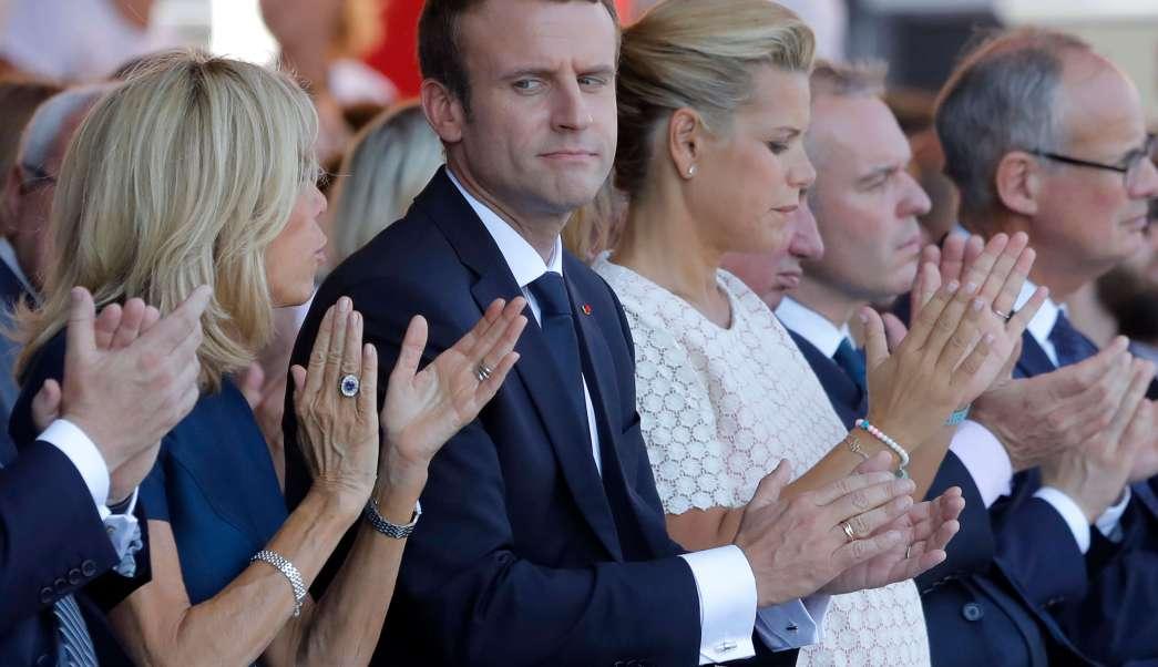 Presidente de Francia, Emmanuel Macron, esposa, Brigitte, Niza, atentado