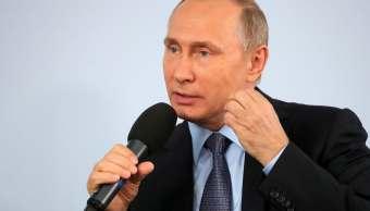 Presidente ruso, Vladimir Putin, Lebedinsky, Belgorod, Rusia