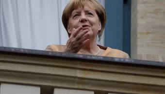 Canciller Alemana Angela Merkel Bayreuth Alemania