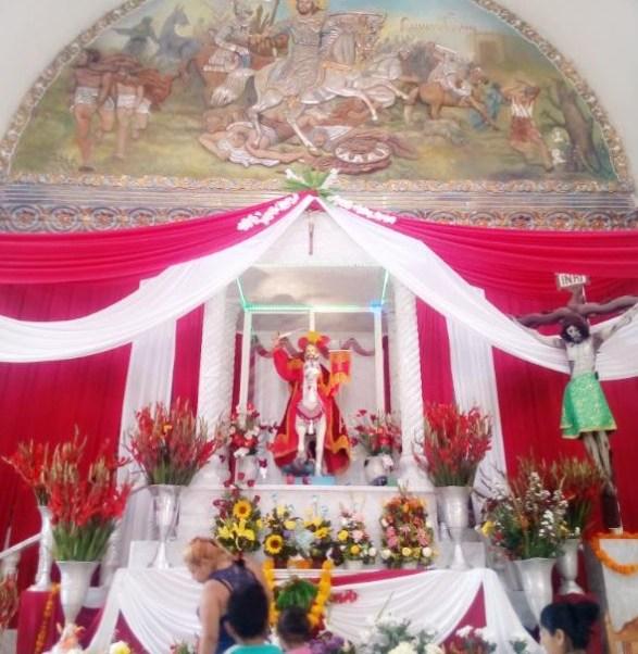 Los festejos en torno al Señor Santiago Apostol (Twitter: @GaboTornez)