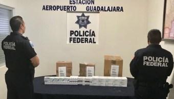 Aseguran Tabletas Medicamento Controlado Aeropuerto Guadalajara