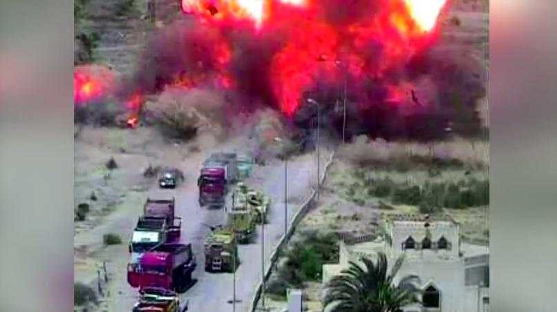 Explota Bomba Atentado Sinai Ejercito Muertos