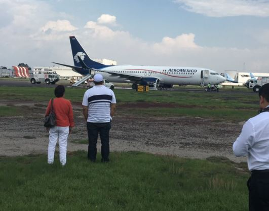 Cdmx, Aicm, Aeroméxico, Boston, Am698, Terminal 2, Tren de aterrizaje