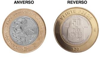 Banco de México anuncia nueva moneda conmemorativa de 20 pesos
