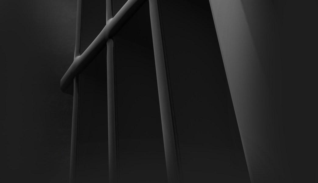 Barras de la celda de una prisión