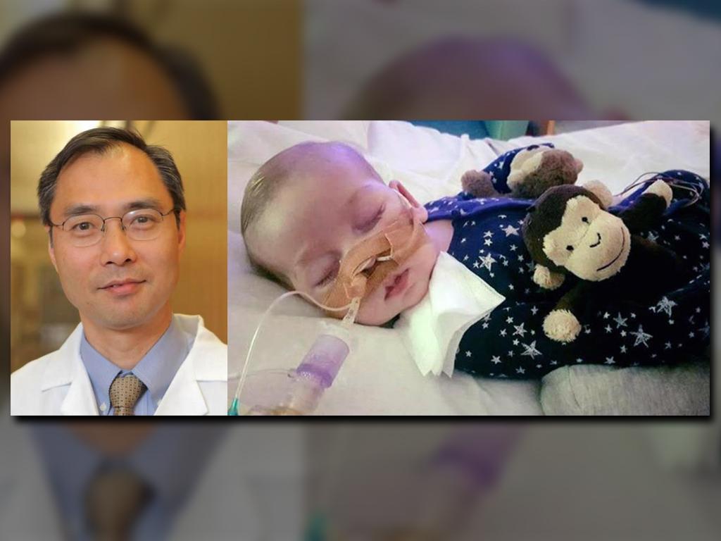 Médico estadounidense viaja a Londres para examinar a Charlie Gard