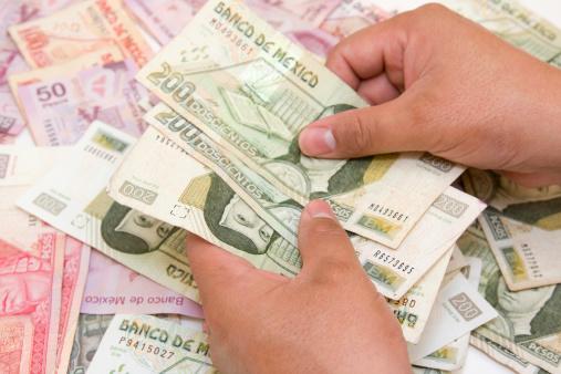 Billetes de México con diferente valor